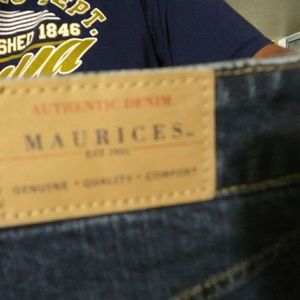 Maurices size 15/16 long new denim